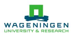 Wageningen University and research logo