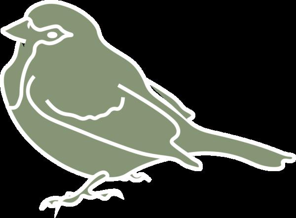 Huismus groen icoon